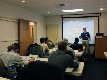 Colmac WaterHeat Factory Training – Fall 2014
