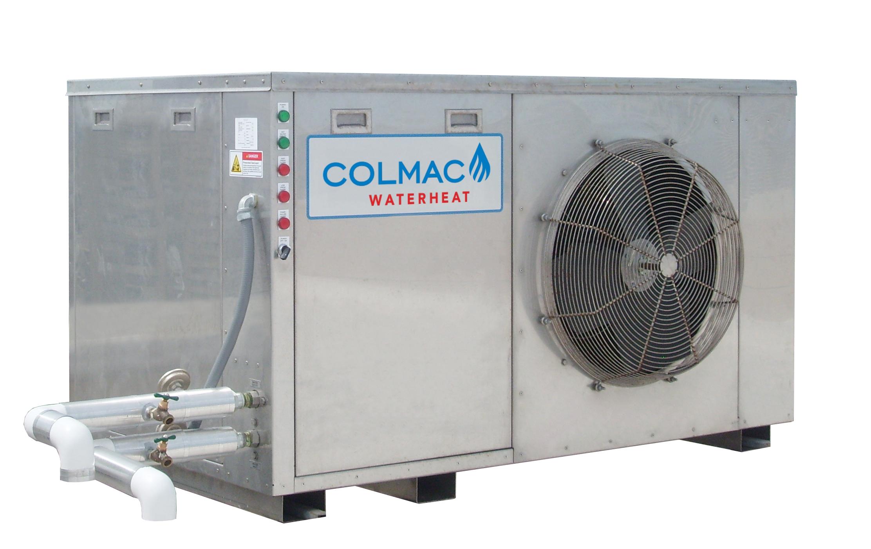 Colmac WaterHeatHPA Series Air Source - Colmac WaterHeat