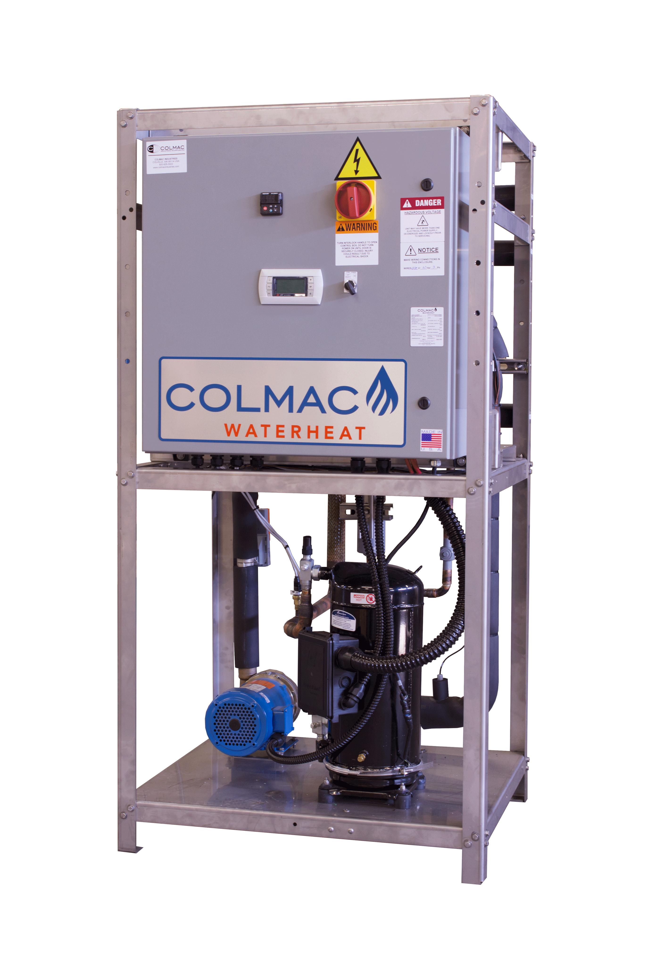 Colmac WaterHeatHPW Series Water Source - Colmac WaterHeat on